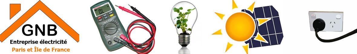 Entreprise Electricité travaux  Paris et ile de France